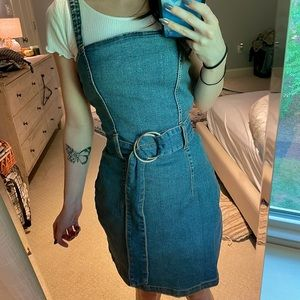 NWT🏷 H&M Denim Belt Dress